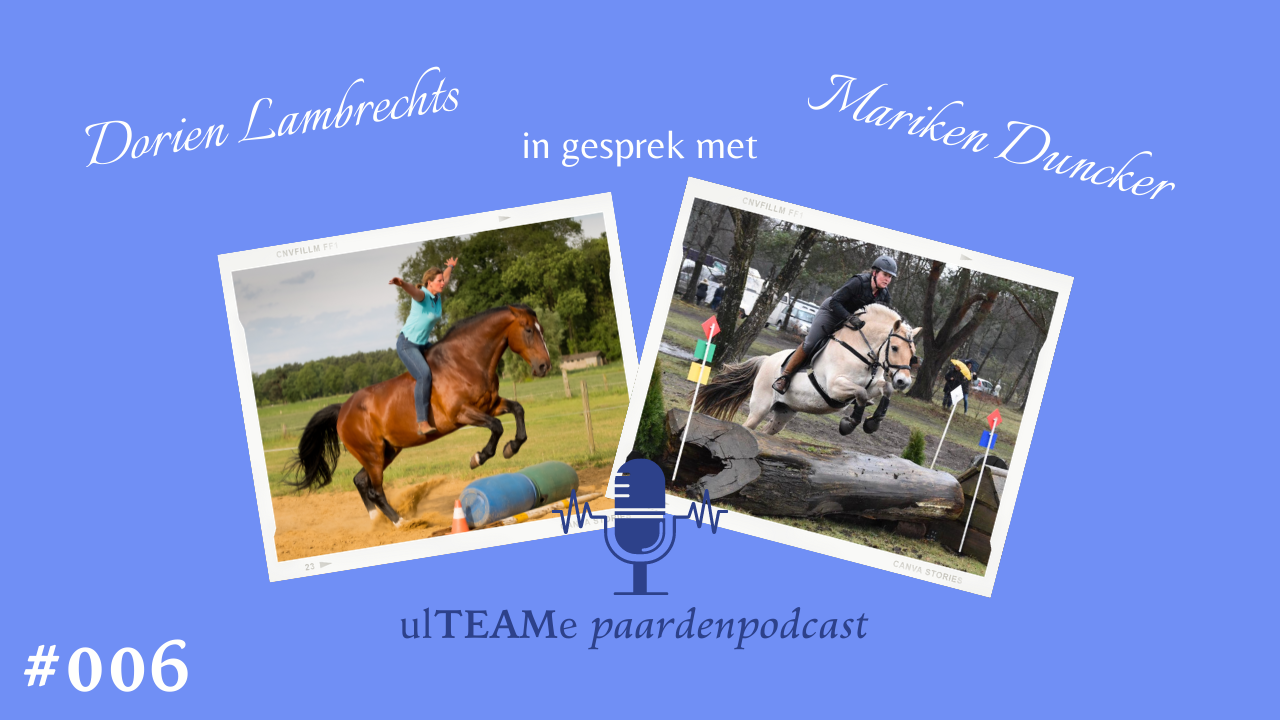 dorien lambrechts - paardenpodcast - mariken duncker - sportpsycholoog