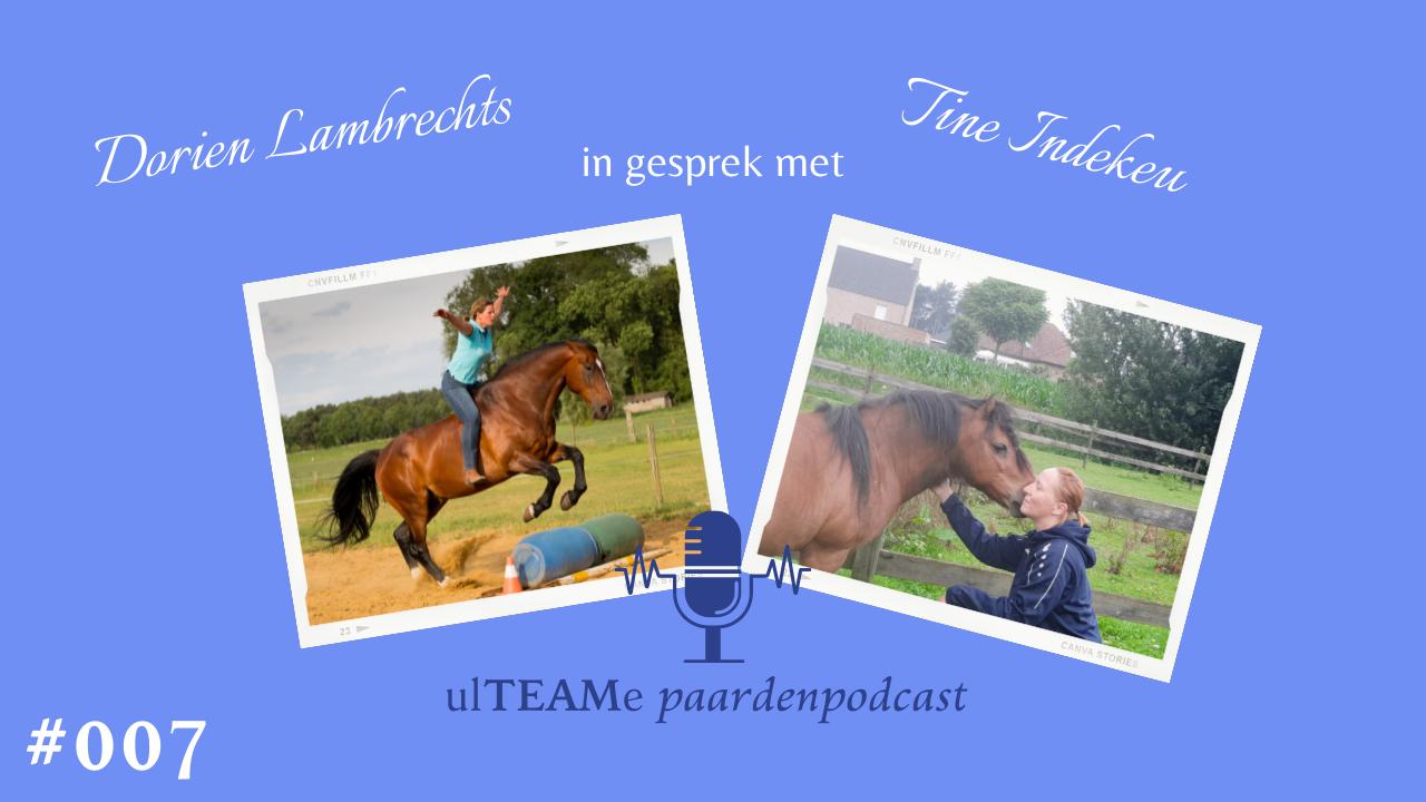 dorien lambrechts - paardenpodcast - tine indekeu - osteopaat