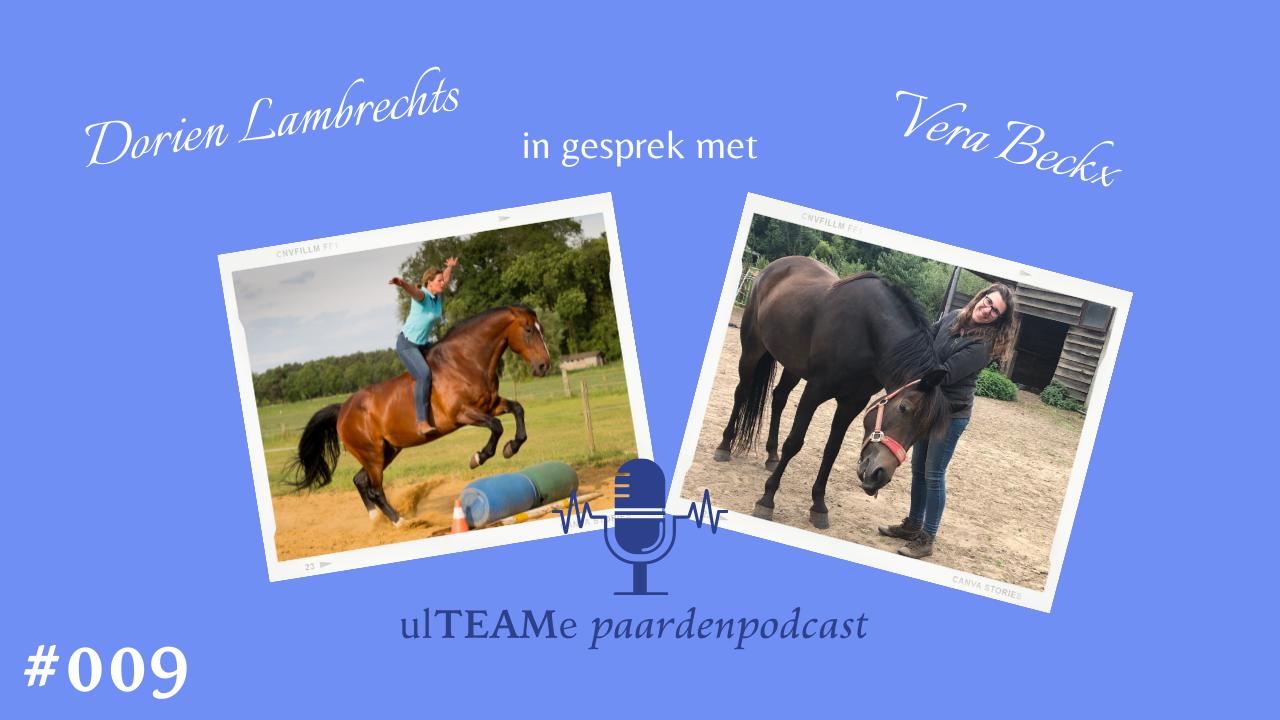 dorien lambrechts - paardenpodcast - vera beckx - paardencoaching