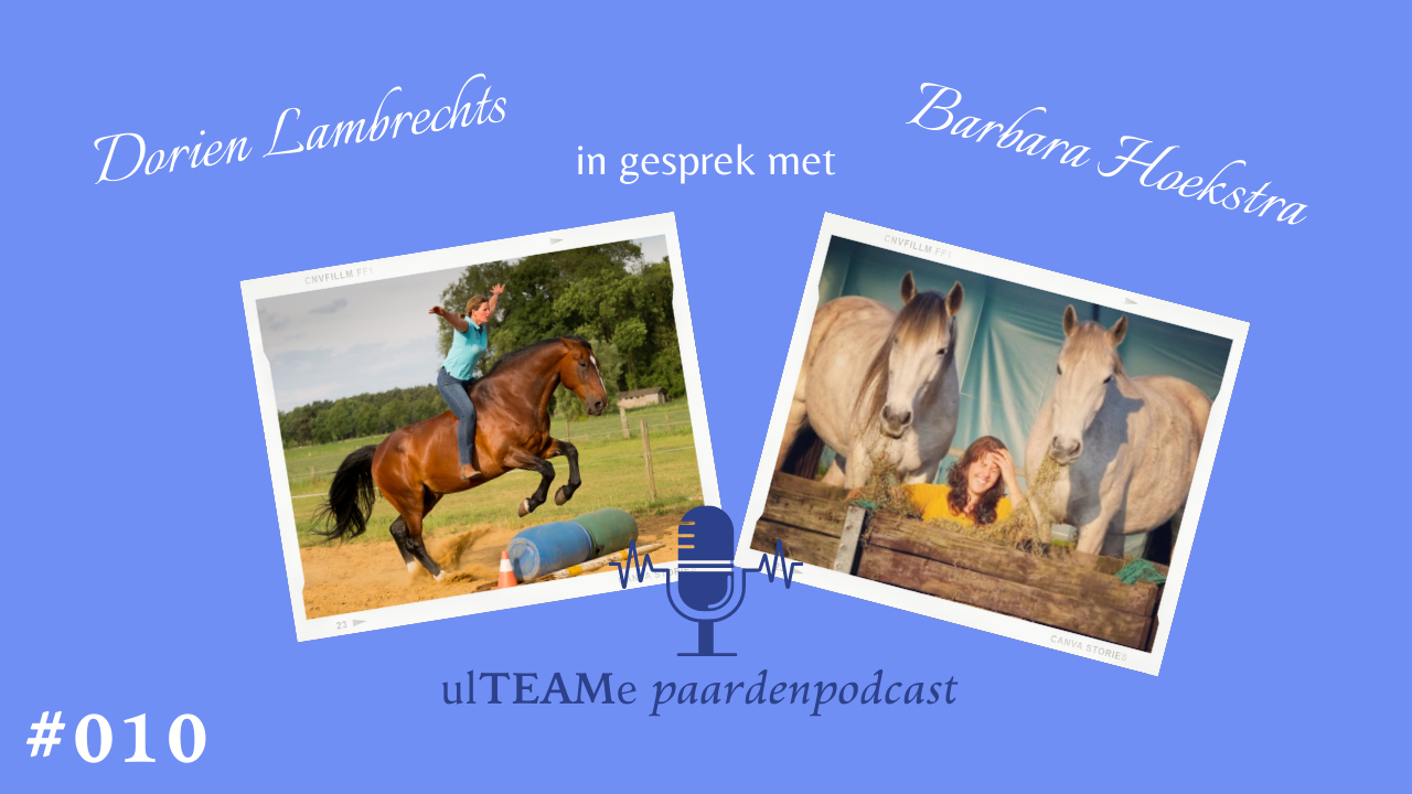 dorien lambrechts - paardenpodcast - barbara hoekstra - hoefbekapper - franklin methode